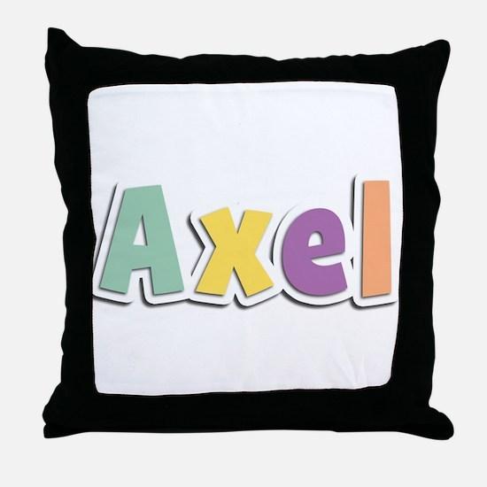 Axel Spring14 Throw Pillow