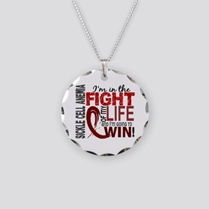 Sickle Cell Anemia FightOfMy Necklace Circle Charm