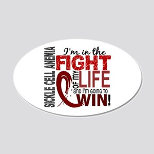 Sickle Cell Anemia FightOfMy 20x12 Oval Wall Decal