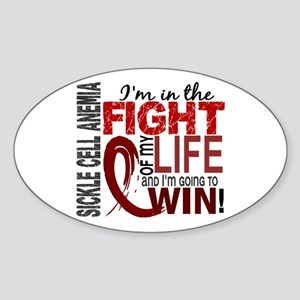 Sickle Cell Anemia FightOfMyLife1 Sticker (Oval)