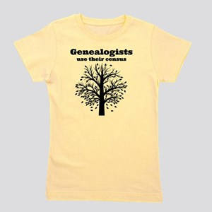 Genealogists use their census Girl's Tee