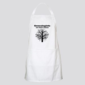 Genealogists use their census Apron