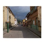 Tabio Village Street Throw Blanket