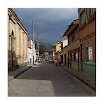 Tabio Village Street Tile Coaster