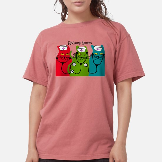 Retired Nurse Blanket CATS.PNG T-Shirt