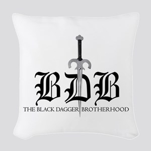Bdb Dagger Woven Throw Pillow