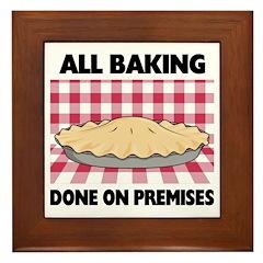 Baking Done On Premises Framed Tile