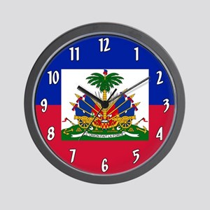 Flag of Haiti Wall Clock
