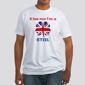 Steel Family Fitted T-Shirt