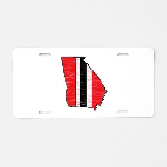 FOR GEORGIA Aluminum License Plate