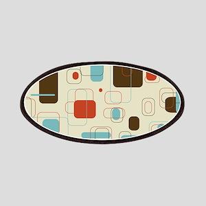 mid century modern art Patches