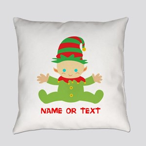Elf Baby Personalized Everyday Pillow