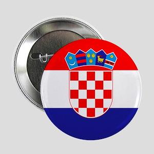 """Croatia Flag 2.25"""" Button"""