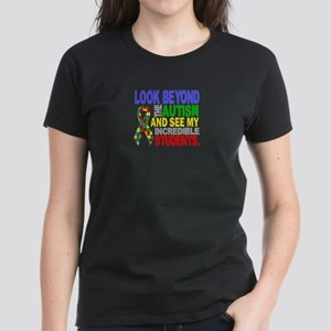 -Look Beyond Autism Students T-Shirt
