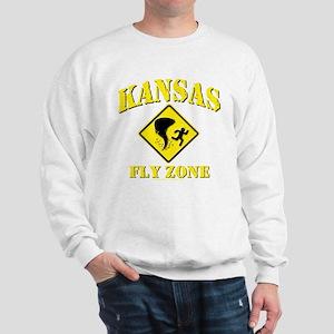 Kansas - Fly Zone! Sweatshirt