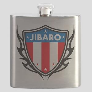Boricua Shield Flask