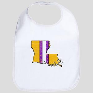 FOR LOUISIANA Baby Bib