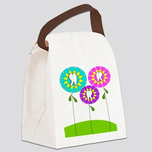Dental Pillow Canvas Lunch Bag