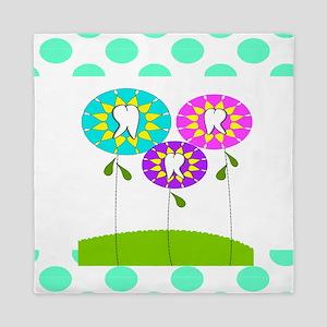Dental Pillow 2 Queen Duvet
