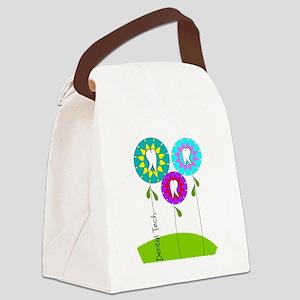 Dental Tech Canvas Lunch Bag