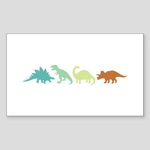 Prehistoric Medley Border Sticker