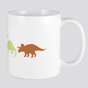 Prehistoric Medley Border Mugs