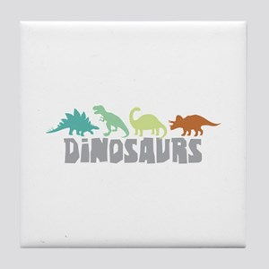 Dinosaurs Tile Coaster