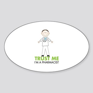 TRUST ME I'M A PHARMACIST Sticker