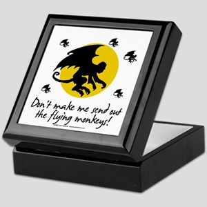 Send Out The Flying Monkeys! Keepsake Box