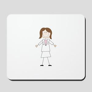 Female Pharmacist Mousepad