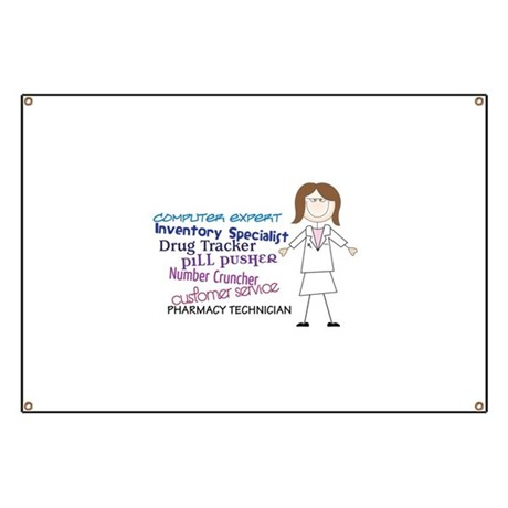 PHARMACY TECHNICIAN Banner by Embroidery1