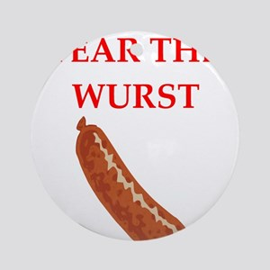 WURST Ornament (Round)