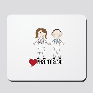 i Love PHarmacy! Mousepad
