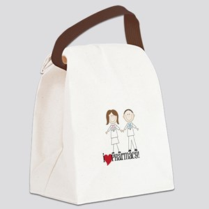i Love PHarmacy! Canvas Lunch Bag