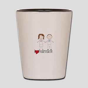 i Love PHarmacy! Shot Glass