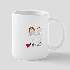 i Love PHarmacy! Mugs