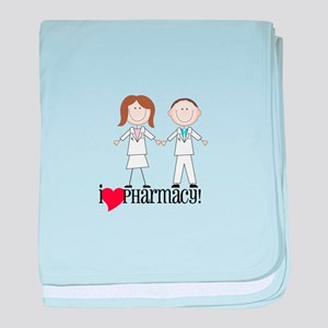 i Love PHarmacy! baby blanket