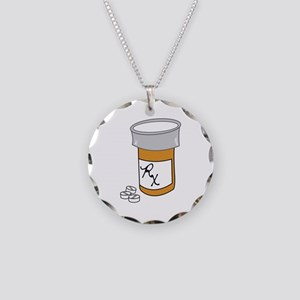 Pill Bottle Necklace