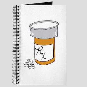 Pill Bottle Journal