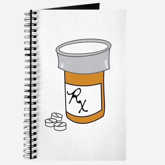 Pill Bottle Journal