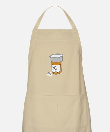 Pill Bottle Apron