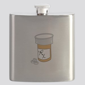 Pill Bottle Flask