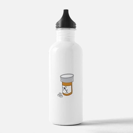 Pill Bottle Water Bottle
