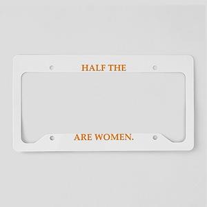 women License Plate Holder