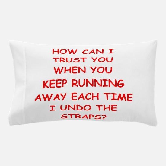 weird humor Pillow Case