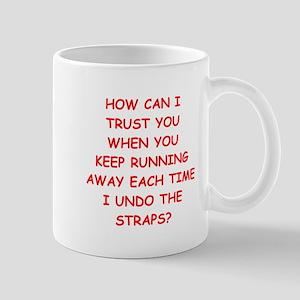 weird humor Mugs