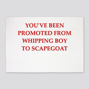 whipping boy 5'x7'Area Rug