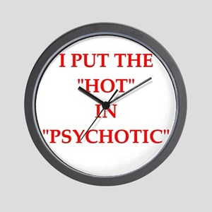 psychotic Wall Clock