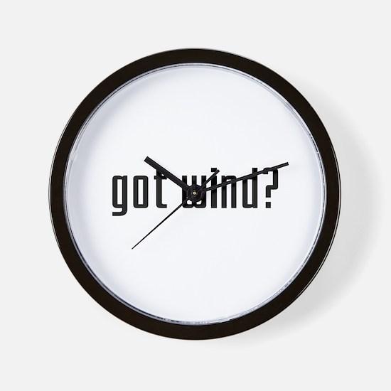 Got Wind? Wall Clock