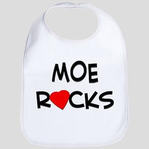 MOE ROCKS Bib